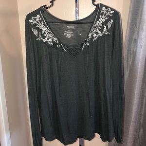 Sonoma long sleeve top - size small